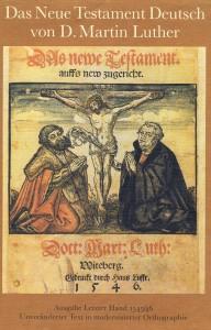 Originaldeckblatt Lutherbibel